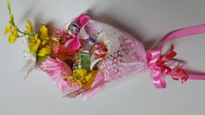 駄菓子ブーケ